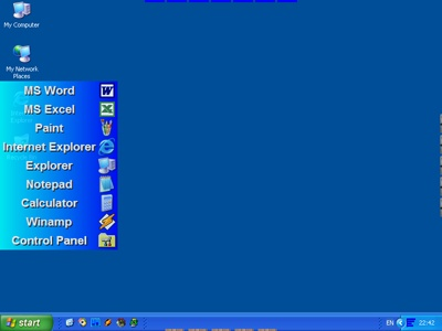 Download Launcher. Astatix Launcher on the Windows XP desktop.